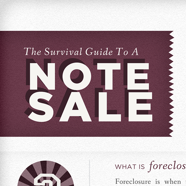 Survival Guide to a Note Sale